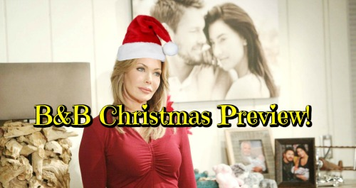 The Bold and the Beautiful Spoilers: B&B Christmas Preview – Get a Sneak Peek of All the Holiday Drama