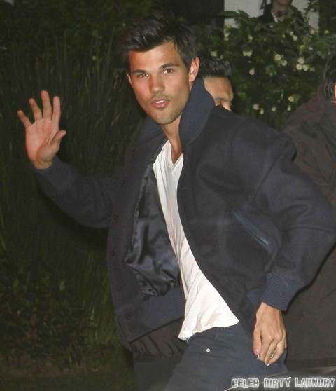 Naked taylor lautner tied up for