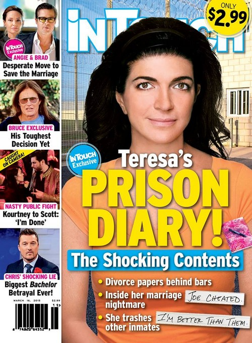 Teresa Giudice Prison Diary - Divorce From Cheating Joe Giudice and Marriage Nightmare