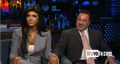 Watch What Happens Live: Teresa and Joe Giudice Blame Crooked Accountant for Federal Crimes and Indictments