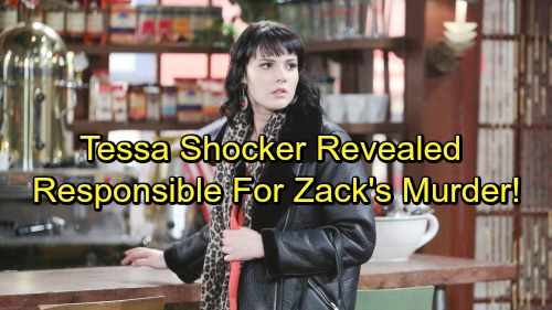 The Young and the Restless Spoilers: Tessa's Shocking Secret Exposed - Stole Newman Gun For Crystal