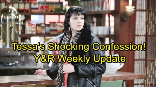 The Young and the Restless Spoilers: Tessa Makes a Shocking Admission – Future Brings Big Changes and Heartbreak