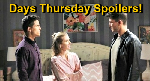 Days of Our Lives Spoilers: Thursday, January 7 – Twins' Kidnapper Strikes – Charlie & Ben Showdown – Kayla Faces Ava Son Shock