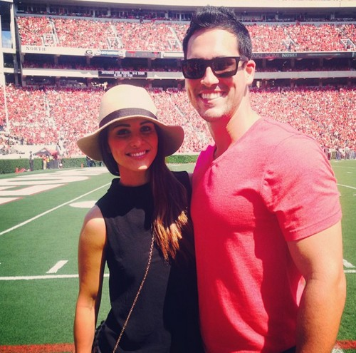 The Bachelorette Andi Dorfman and Josh Murray Split Phoney Football Game Appearance - TV Wedding Cancelled - Fake Relationship Showmance