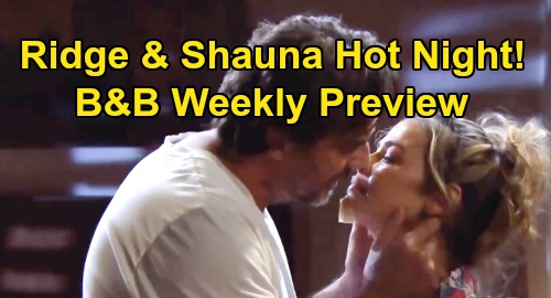 The Bold and the Beautiful Spoilers: Week of October 28 Preview – Brooke Betrayed, Quinn Horrified - Shauna's Hot Night with Ridge