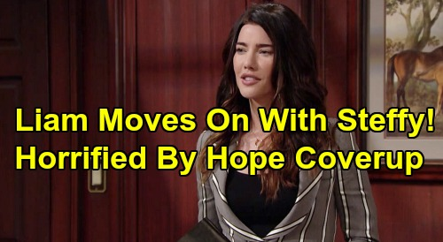 The Bold and the Beautiful Spoilers: Liam Moves On With Steffy, Ridge With Shauna - Horrified By Hope and Brooke's Thomas Cover-up