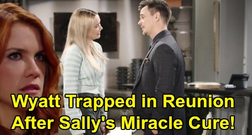 The Bold and the Beautiful Spoilers: Wyatt Trapped in Reunion After Sally Survives – Cheats with Flo, Sets Up More Heartbreak?