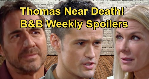 The Bold and the Beautiful Spoilers: Week of August 26 – Thomas Near Death, Ridge Blames Brooke – Liam Comforts Hope
