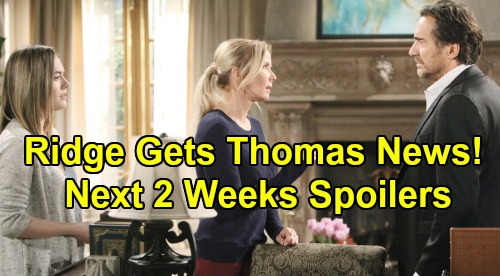The Bold and the Beautiful Spoilers Next 2 Weeks: Hope Stuns Liam - Ridge Faces Shocking Thomas News – Steffy Can't Find Brother
