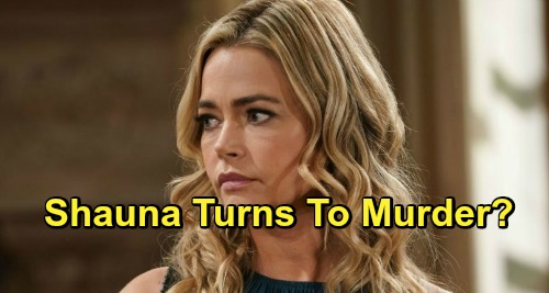 The Bold and the Beautiful Spoilers: B&B Murder Shocker – Desperate Shauna Takes Baby Swap Scheme Too Far?