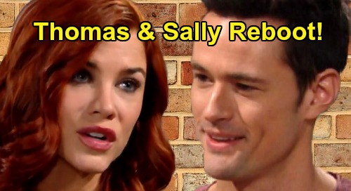 The Bold and the Beautiful Spoilers: Will Thomas and Sally Reboot After Miracle Recovery - Thomas Needs Better Option Than Hope & Zoe?