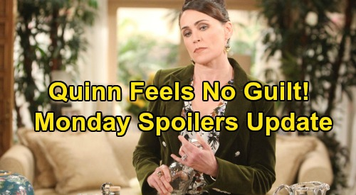 The Bold and the Beautiful Spoilers: Monday, February 3 Update – Wyatt Steps Out of Liam's Shadow, Picks Flo - Quinn Guiltless Over Brooke's Drink