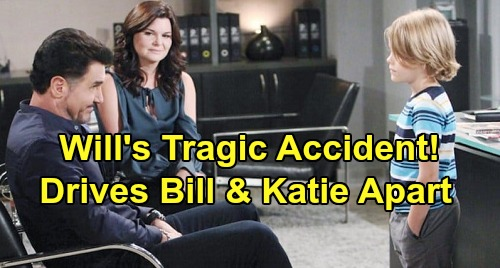 The Bold and the Beautiful Spoilers: Will's Tragic Accident Drives Bill and Katie Apart – 'Batie' Reunion in Jeopardy?
