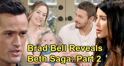 The Bold and the Beautiful Spoilers: Bradley Bell Leaks Next Chapter of Beth Saga – Steffy's Involvement & New Surprises Revealed