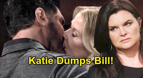 The Bold and the Beautiful Spoilers: Katie Dumps Bill, Kicks Cheater to the Curb Over Brooke – Burned by Betrayal Too Many Times?