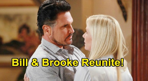 The Bold and the Beautiful Spoilers: Bill Drawn To Brooke as Thomas vs. Logan War Heats Up – Will 'Brill' Reunite?