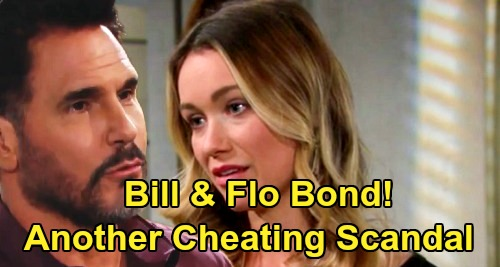 The Bold and the Beautiful Spoilers: Bill & Flo Bond While Wyatt's Busy with Sally – Another Cheating Scandal Brewing?