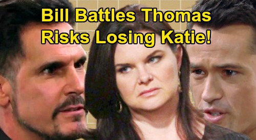 The Bold and the Beautiful Spoilers: Bill Battles Thomas, 'Batie' Family in Jeopardy – Dark 'Dollar Bill' Risks Losing Katie