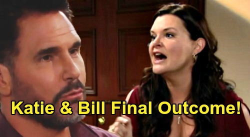 The Bold and the Beautiful Spoilers: Katie Logan Films New Bill Spencer Drama - Heather Tom's Daytime Emmy Legacy Grows