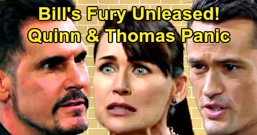The Bold and the Beautiful Spoilers: Bill's Fury Unleashed Over Brooke Takedown – Quinn and Thomas Face Formidable Foe