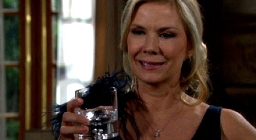 The Bold and the Beautiful Spoilers: Brooke's Drunken Downward Spiral - Bill Plays The Hero, Breaks Katie's Heart Again?