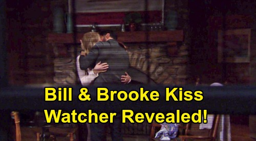 The Bold and the Beautiful Spoilers: Brooke & Bill's Kiss Mystery Watcher - See Who It Was & What Will They Do Next?