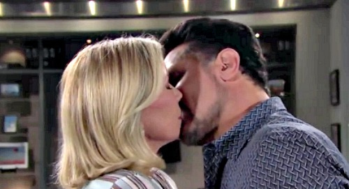 The Bold and the Beautiful Spoilers: Bill's Brooke Kiss Isn't Enough - Dreams of Hot Hookup - Sneaky 'Brill' Reunion Plans