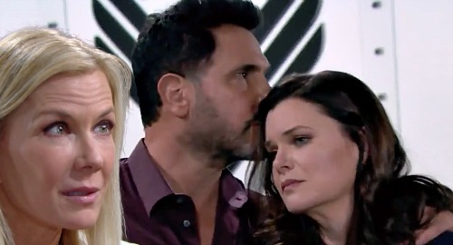 The Bold and the Beautiful Spoilers: Brooke's Sister Bond Broken Forever - Katie Really Minds Serial Cheater Kissing Bill