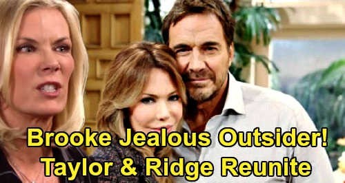 The Bold and the Beautiful Spoilers: Taylor & Ridge Should Bond Over Thomas & Steffy, Rebuild Family – Leave Brooke a Jealous Outsider