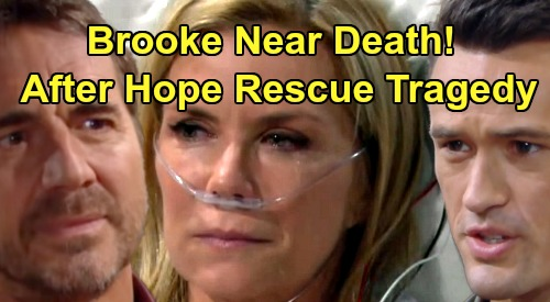 The Bold and the Beautiful Spoilers: Brooke Near Death After Thomas' Hope Plan Takes Tragic Turn – Ridge's Fury Erupts?