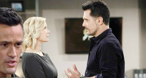 The Bold and the Beautiful Spoilers: Brooke Turns To Bill and Away From Ridge - Rants That Thomas' Ruining Hope's Life