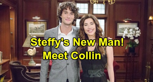 The Bold and the Beautiful Spoilers: Steffy Asked Out By Hot New Guy - Meet Steffy's New Man 'Collin' - Played by Model Oli Mills