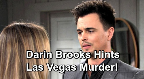 The Bold and the Beautiful Spoilers: Darin Brooks Teases Las Vegas Murder – What's Next for Wyatt