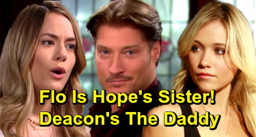The Bold and the Beautiful Spoilers: Flo Revealed as Hope's Sister, Daddy Deacon Sharpe Exposed – Stunning Twist in Baby Storyline