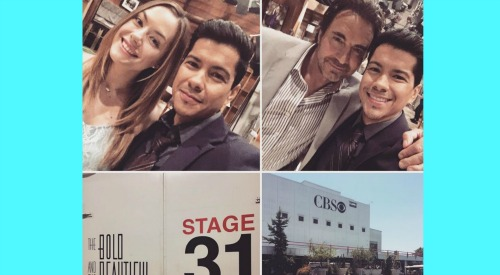 The Bold and the Beautiful Spoilers: Detective Sanchez Returns for Thomas – Jeremy Ray Valdez Back on B&B Set
