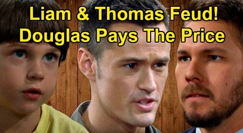 The Bold and the Beautiful Spoilers: Thomas & Liam's Fierce Father Battle – Douglas Pays The Price, Goes to Sinister Places