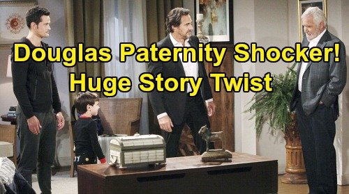 The Bold and the Beautiful Spoilers: Douglas Paternity Shocker - Ridge Is Bio Dad After All - Huge Twist Looms in Thomas Story?