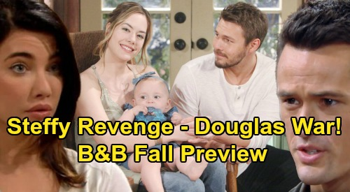 The Bold and the Beautiful Spoilers: B&B Fall Preview – Thomas Battles Hope & Liam for Douglas – Steffy's Pain Fuels Revenge