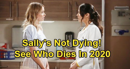 The Bold and the Beautiful Spoilers: Sally's Not Dying - See Which B&B Character Will Die In 2020?