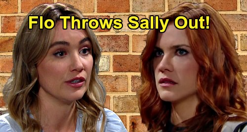 The Bold and the Beautiful Spoilers: Flo Throws Sally Out of Wyatt's House - Sets Trap, Tricks Scammer – Shocking Showdown Ahead