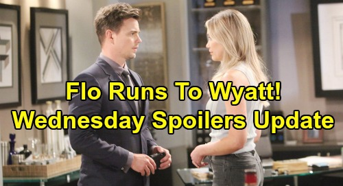 The Bold and the Beautiful Spoilers: Wednesday, September 11 Update – Flo's Freedom Brings Bridge War – Sally Protects Her Heart