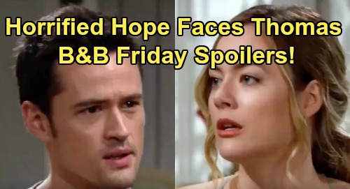 The Bold and the Beautiful Spoilers: Friday, August 23 – Hope Faces Raging Thomas, Violent Showdown – Brooke's Desperate Attack