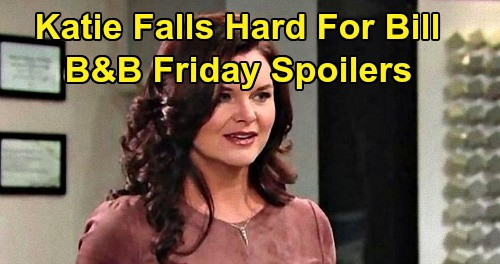 The Bold and the Beautiful Spoilers: Friday, February 7 - Bill's Love Overwhelms Katie - Sally Rejects Wyatt's Compassion