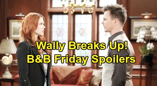 The Bold and the Beautiful Spoilers: Friday, January 17 - Brooke & Quinn Brawl Drags Eric In - Wyatt Tries To Break Up With Sally