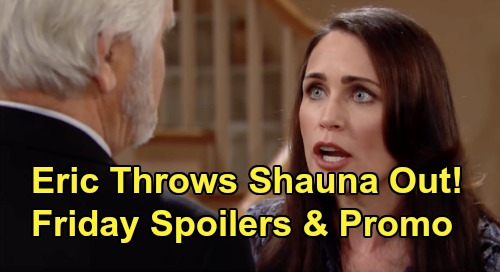 The Bold and the Beautiful Spoilers: Friday, January 24 - Thomas Stops Steffy's Confession - Eric Insists Shauna Must Move Out