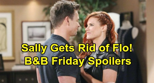 The Bold and the Beautiful Spoilers: Friday, July 12 – Hope Tricked Into ASAP Wedding – Sneaky Sally Gets Rid of Flo