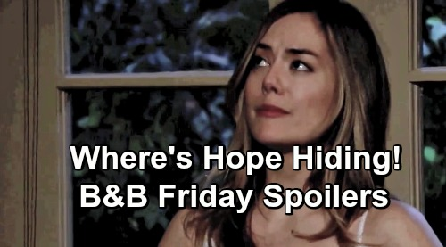 The Bold and the Beautiful Spoilers: Friday, July 19 - Flo Threatens To Stop Wedding - Liam and Thomas Bicker - Where's Hope?