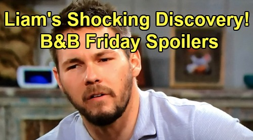 The Bold and the Beautiful Spoilers:Friday, July 26 - Liam Gets Shocking Answers On Flo - Zoe Learns Thomas' Death Threat