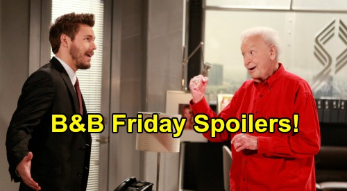 The Bold and the Beautiful Spoilers: Friday, May 22 - Quinn Urges Steffy To Fight For Liam - Ridge Stuns Brooke At Waterfall