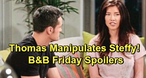 The Bold and the Beautiful Spoilers: Friday, May 31 - Xander Demands Truth From Zoe - Steffy Confronts Thomas About Hope Plans